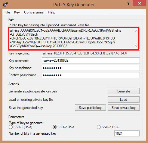 Creating a Public and Private Key using PuttyGen | Amal G Jose